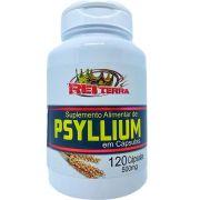 Psyllium 120 Cápsulas 500mg - Rei Terra
