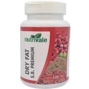 Seca Barriga + Psyllium + Hibiscus Premium Dry Fat 500mg 120 Cápsulas