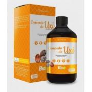 Uxi Amarelo Composto com Unha de Gato 500ml Suplemento Vitaminico - Bionutrir