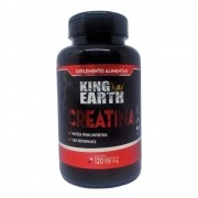 Creatina em Cápsulas 120 Cápsulas  750mg Performance- King Earth