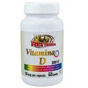 Vitamina D 2000UI 60 Cápsulas 500mg - Rei Terra