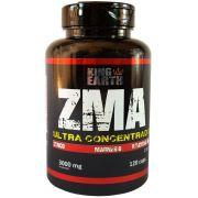ZMA Ultra Concentrado Zinco, Magnésio e Vitamina B6 120 Cáps 3000mg. - King Earth