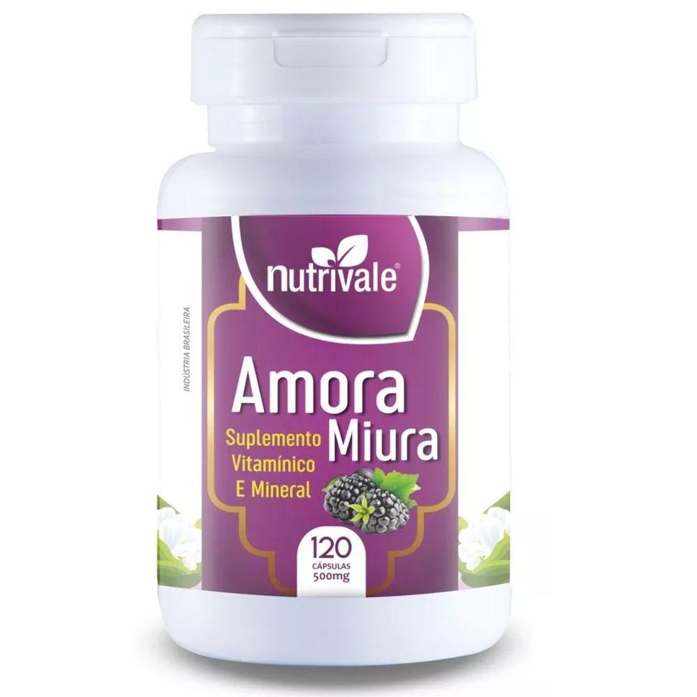 Amora Miura 500mg 120 Cápsulas - Nutrivale