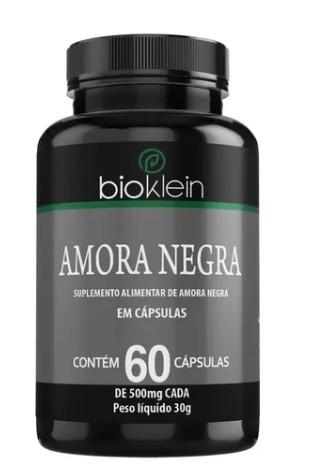 Amora Negra - 60 Cápsulas 500mg - Bioklein