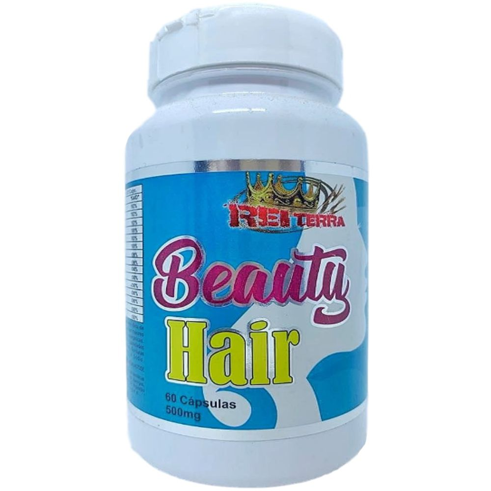 Beauty Hair 60 Cápsulas 500mg - Rei Terra