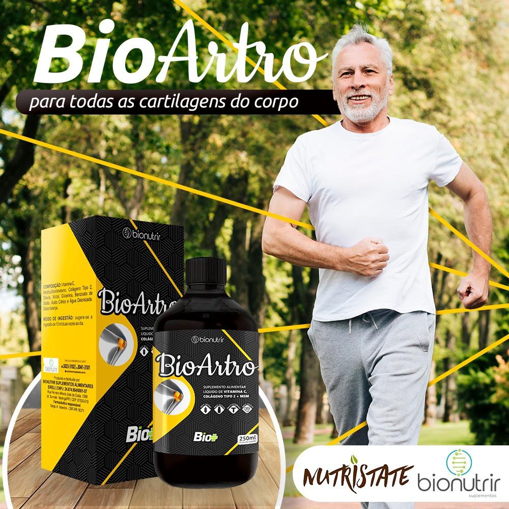 Bio Artro - Colágeno Tipo 2 + Msm + Vit C 250ml - BioNutrir