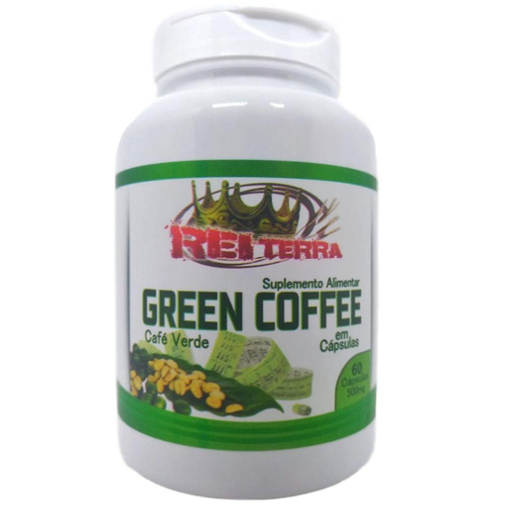 Café Verde 60 Cápsulas 500mg - Rei Terra