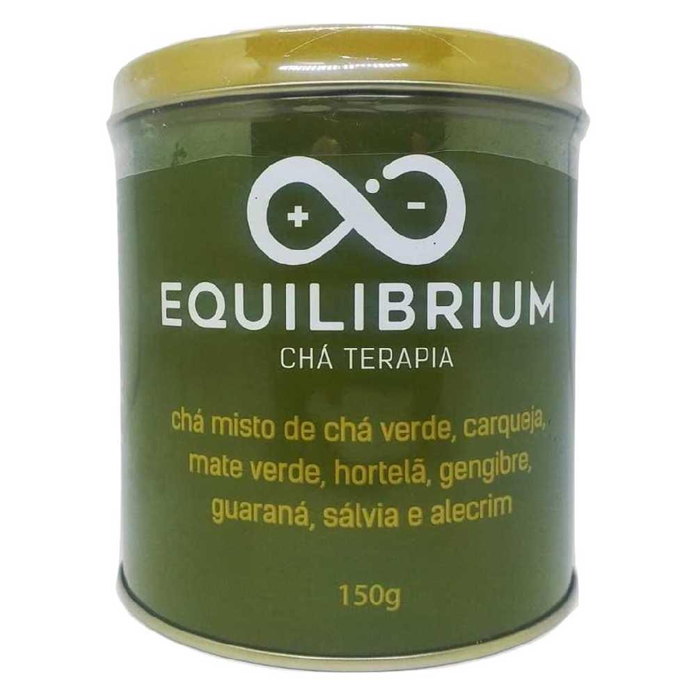 Chá Equilibrium Termogênico Chá Verde Gengibre Sálvia Guaraná Carqueja - Catalmedic