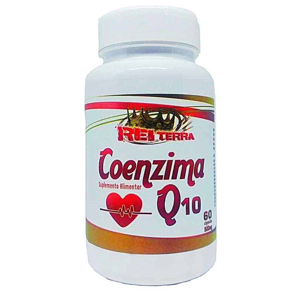 Coenzima Q10 Com Vitamina E 60 Cápsulas 500mg - Rei Terra