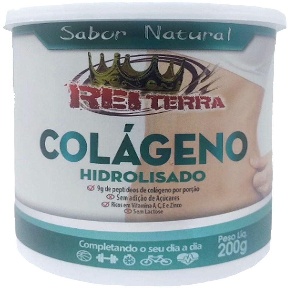 Colágeno Hidrolisado Natural em pó 200g