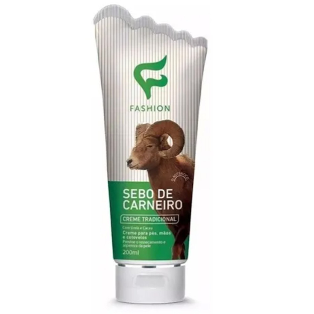 Creme Sebo de Carneiro 200ml - Fashion