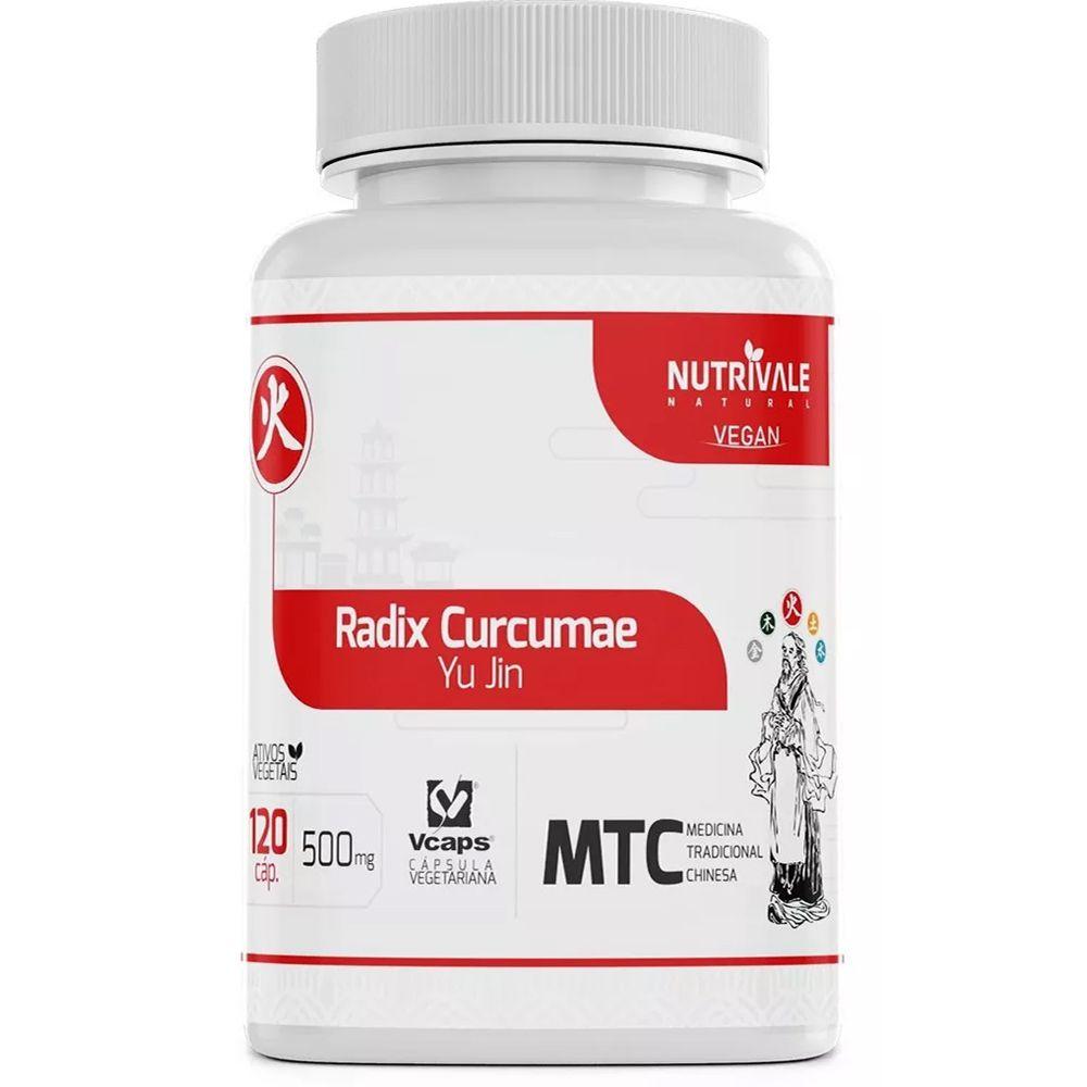 Curcuma Açafrão (Radix Curcumae) MTC 500mg 120 Cápsulas