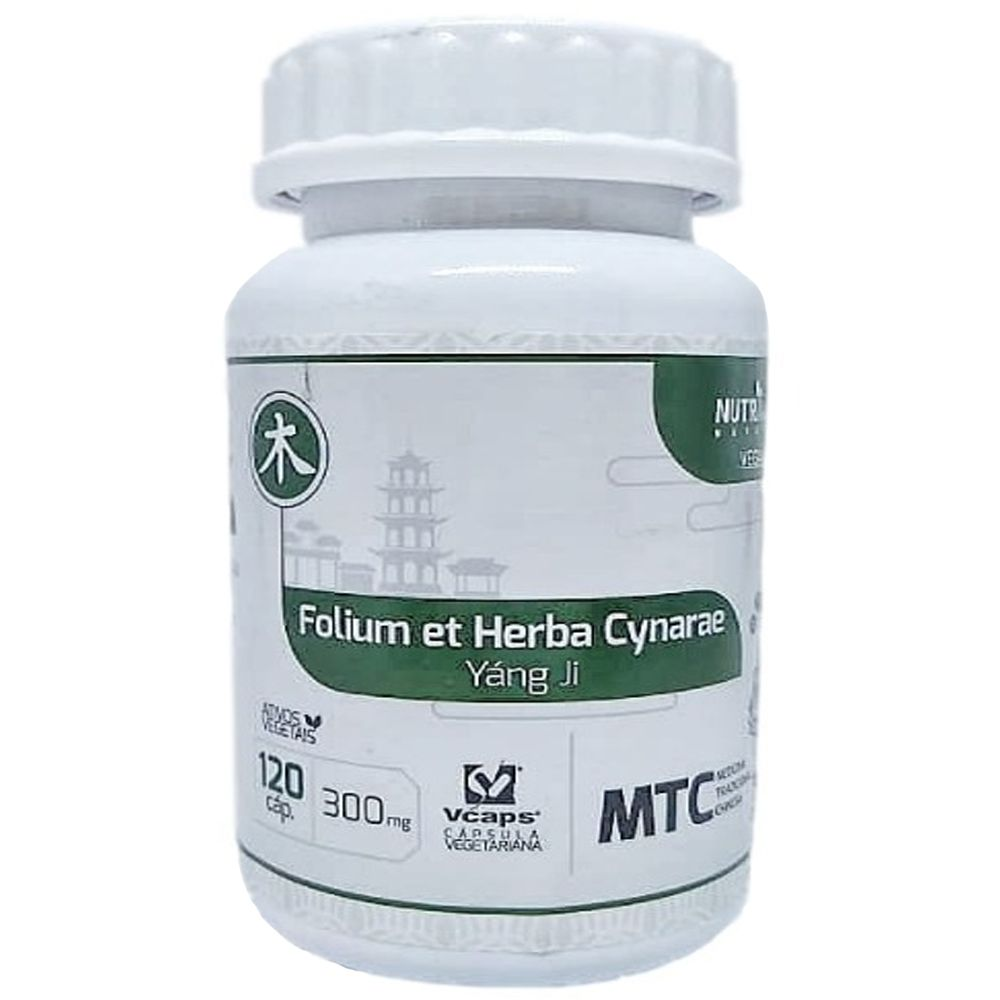 Alcachofra (Folium Et Herba Cynarae) MTC 120 Cápsulas 300mg - NutriVale
