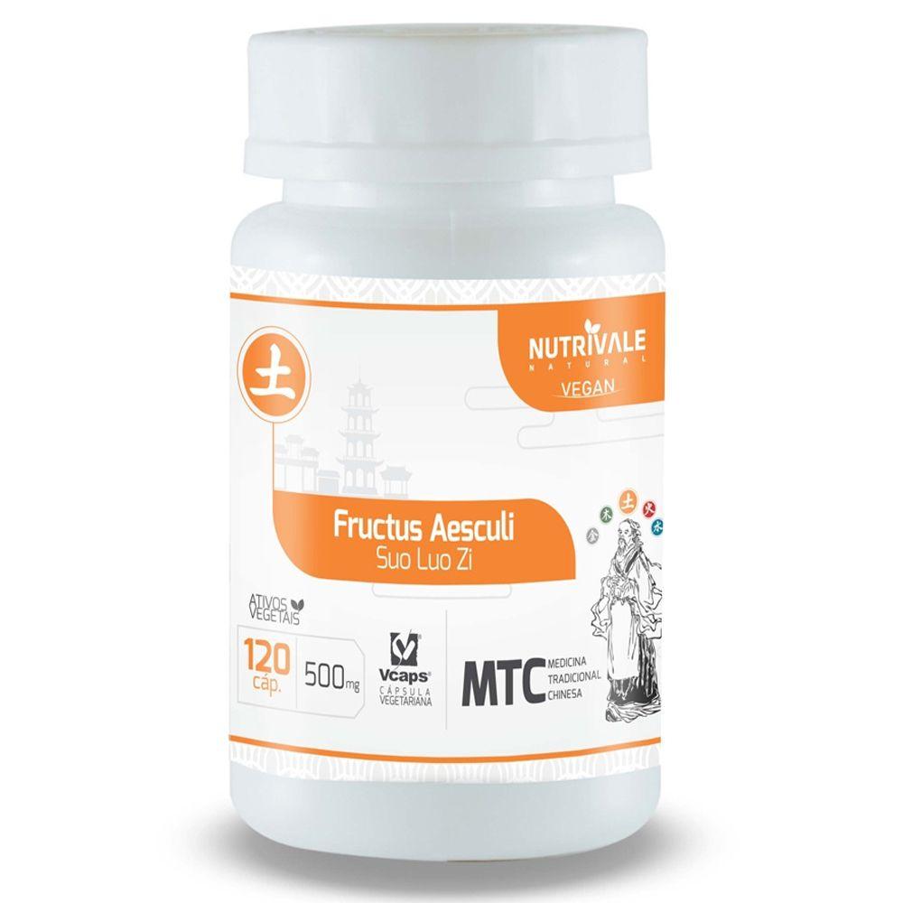 MTC Castanha da Índia (Fructus Aesculi) 500mg 120 Cápsulas NutriVale