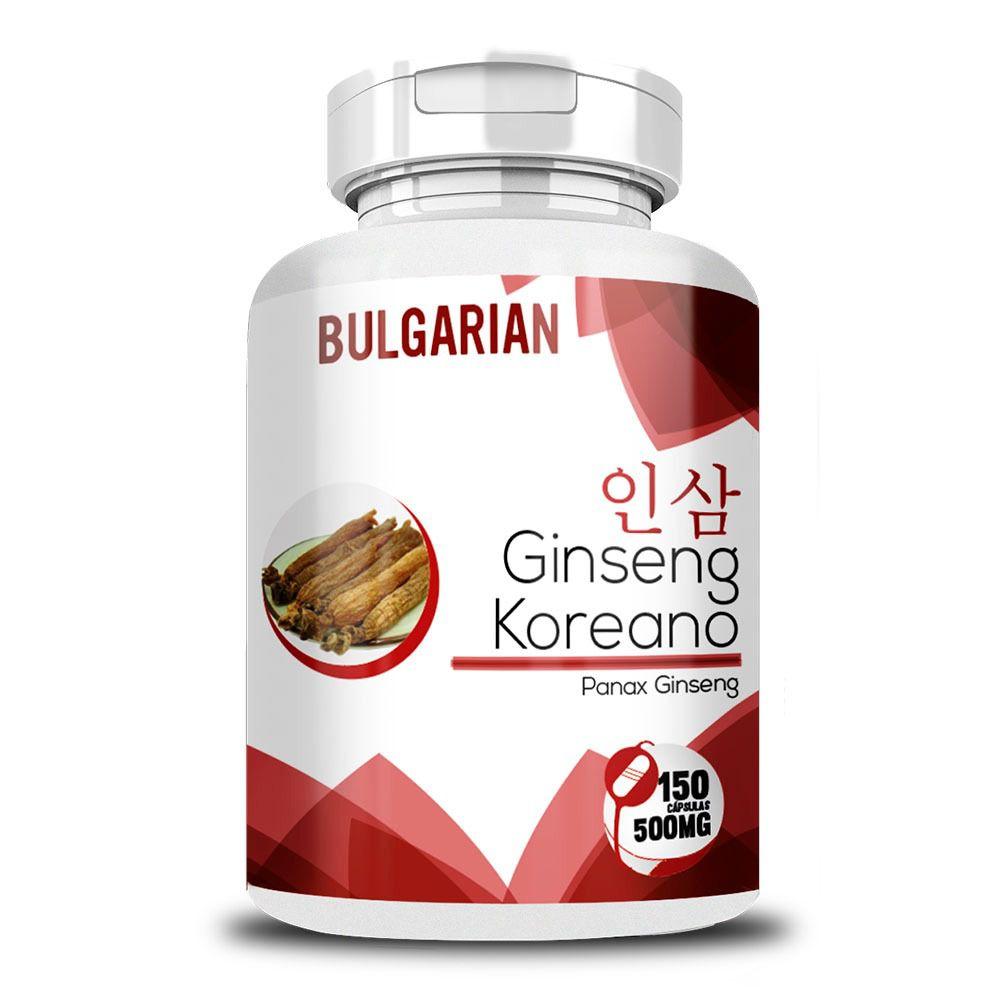 Ginseng Coreano - Original - 500mg - 150 Cápsulas