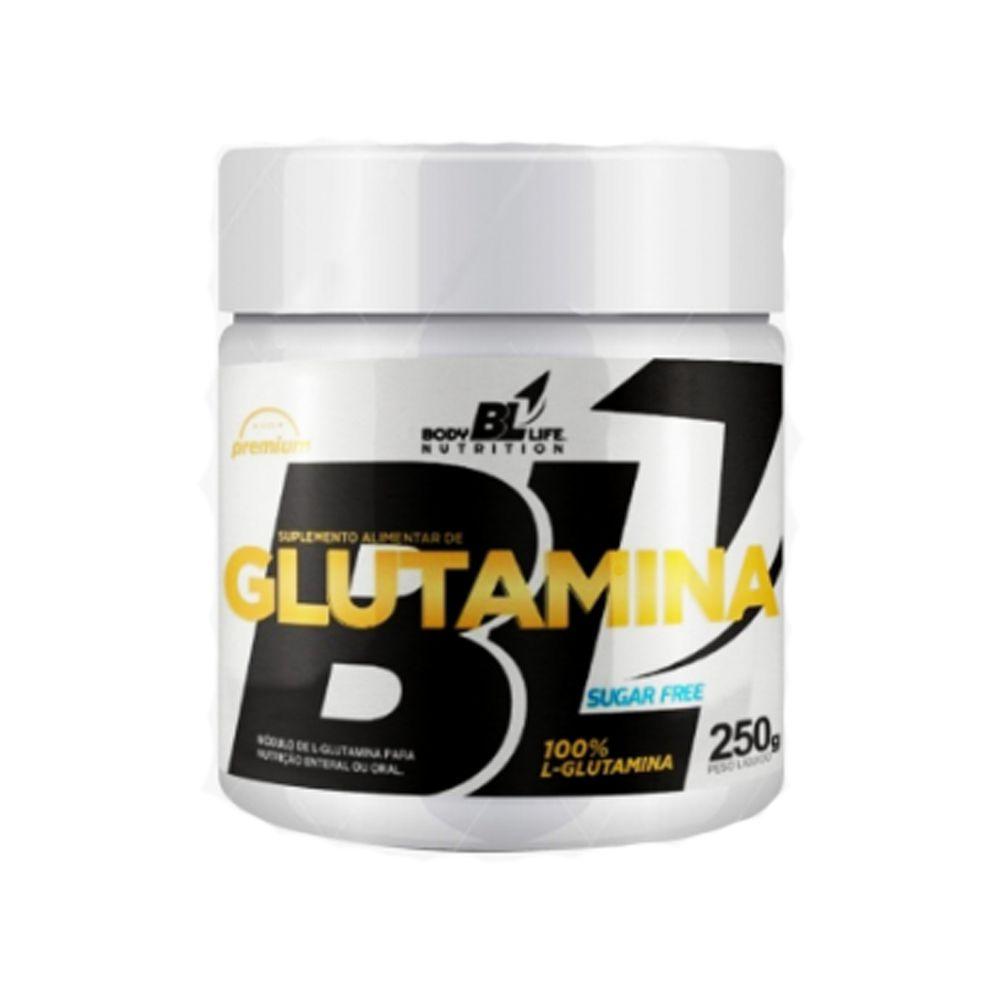 L-Glutamina 250g em Pó BodyLife