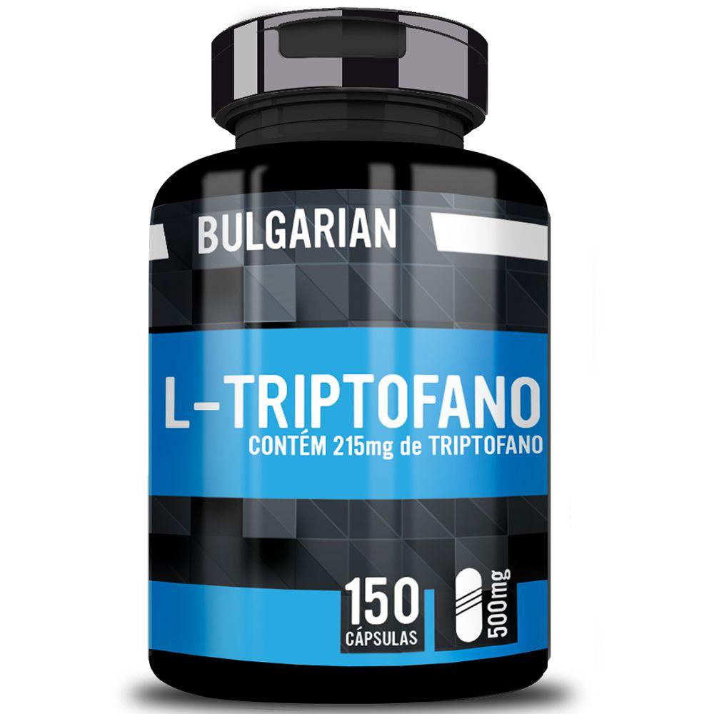 L-Triptofano 150 Cápsulas 500mg - Bulgarian