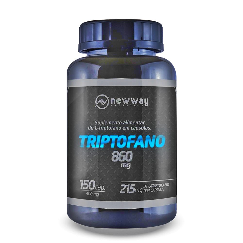 L-Triptofano 150 Cápsulas 860mg - New Way Nutrition