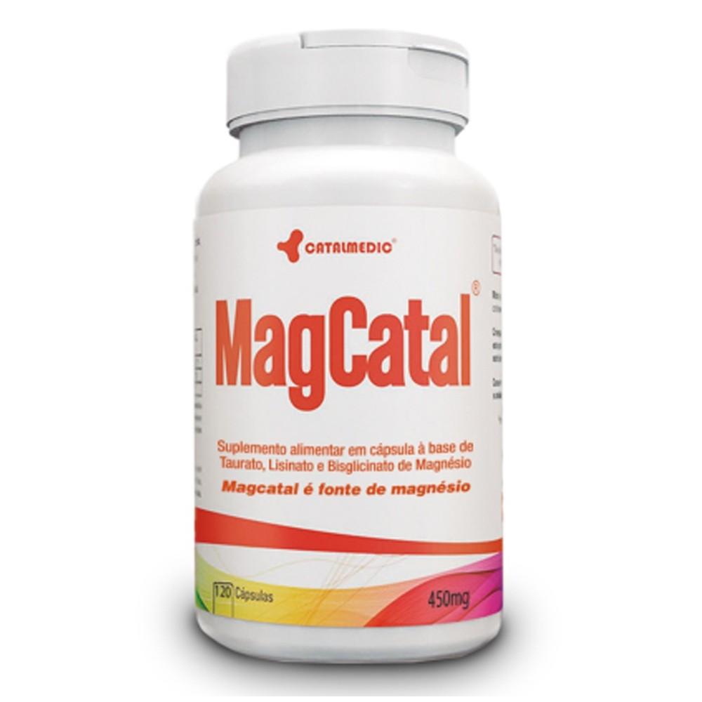 MagCatal 120 Cápsulas 450mg - Catalmedic