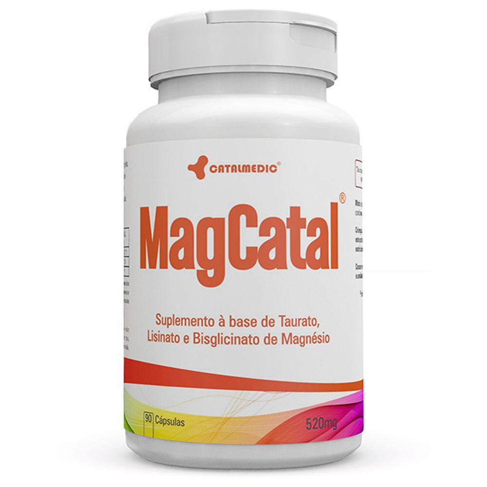 MagCatal 90 Cápsulas 520mg - Catalmedic