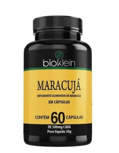 Maracujá Passiflora 60 Cápsulas 500mg - Bioklein