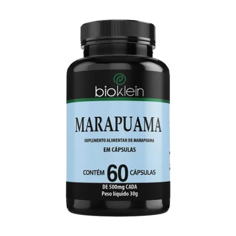 Marapuama - 500 Mg 60 Cápsulas- Bioklein