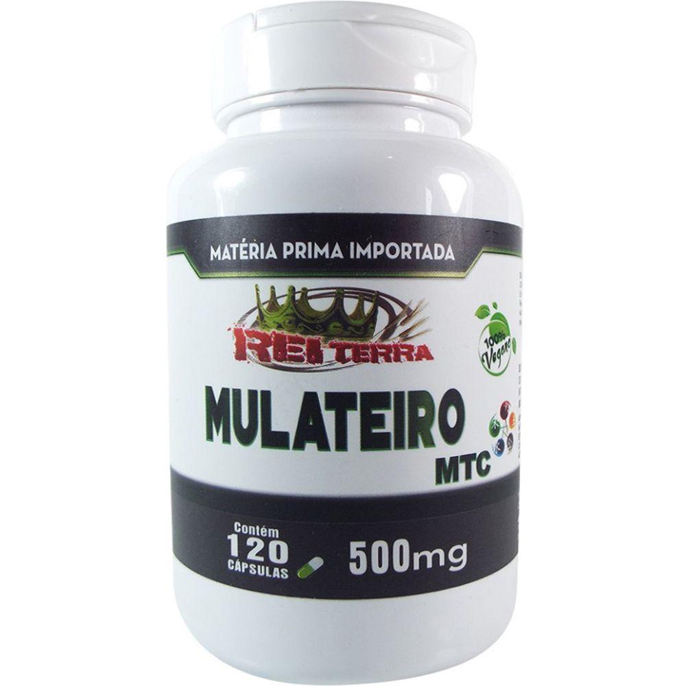 Mulateiro Extrato Importado MTC 500mg 120 Cápsulas - Rei Terra