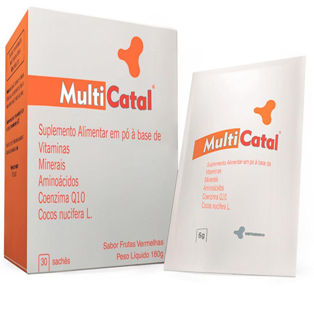 MultiCatal 30 Sachês 180g - Catalmedic