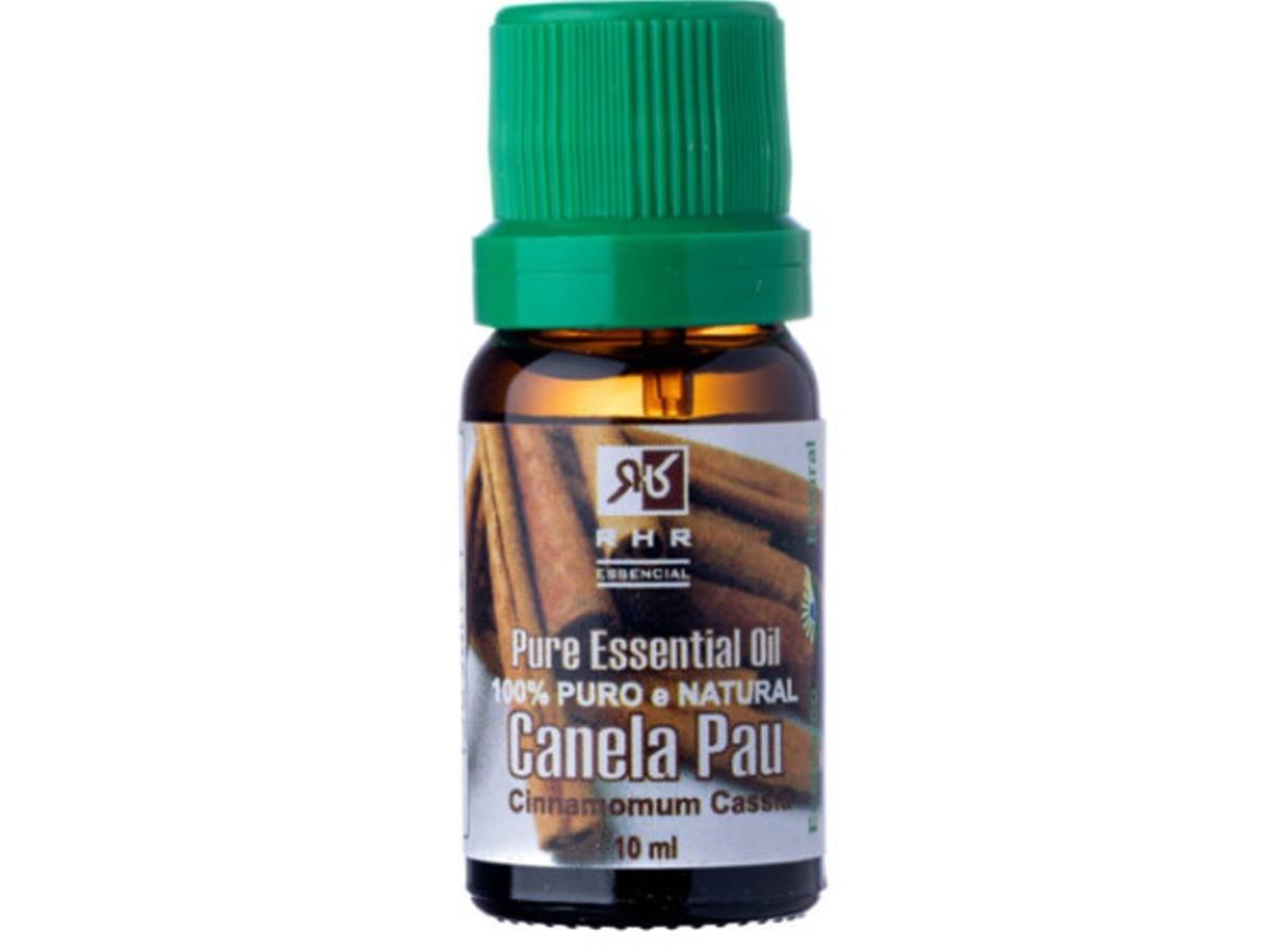 Óleo Essencial De Canela Pau 10ml - 100% Puro RHR