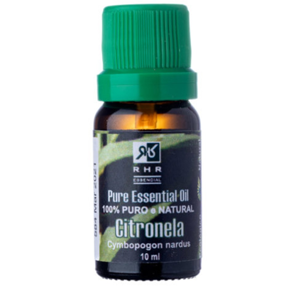 Óleo Essencial Puro De Citronela RHR - 10ml