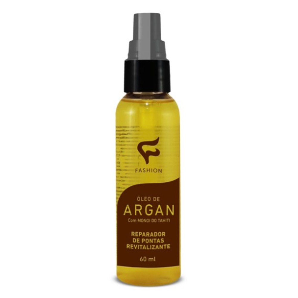 Óleo Reparador de Pontas Argan Com Monoi do Tahiti 60ml - Fashion