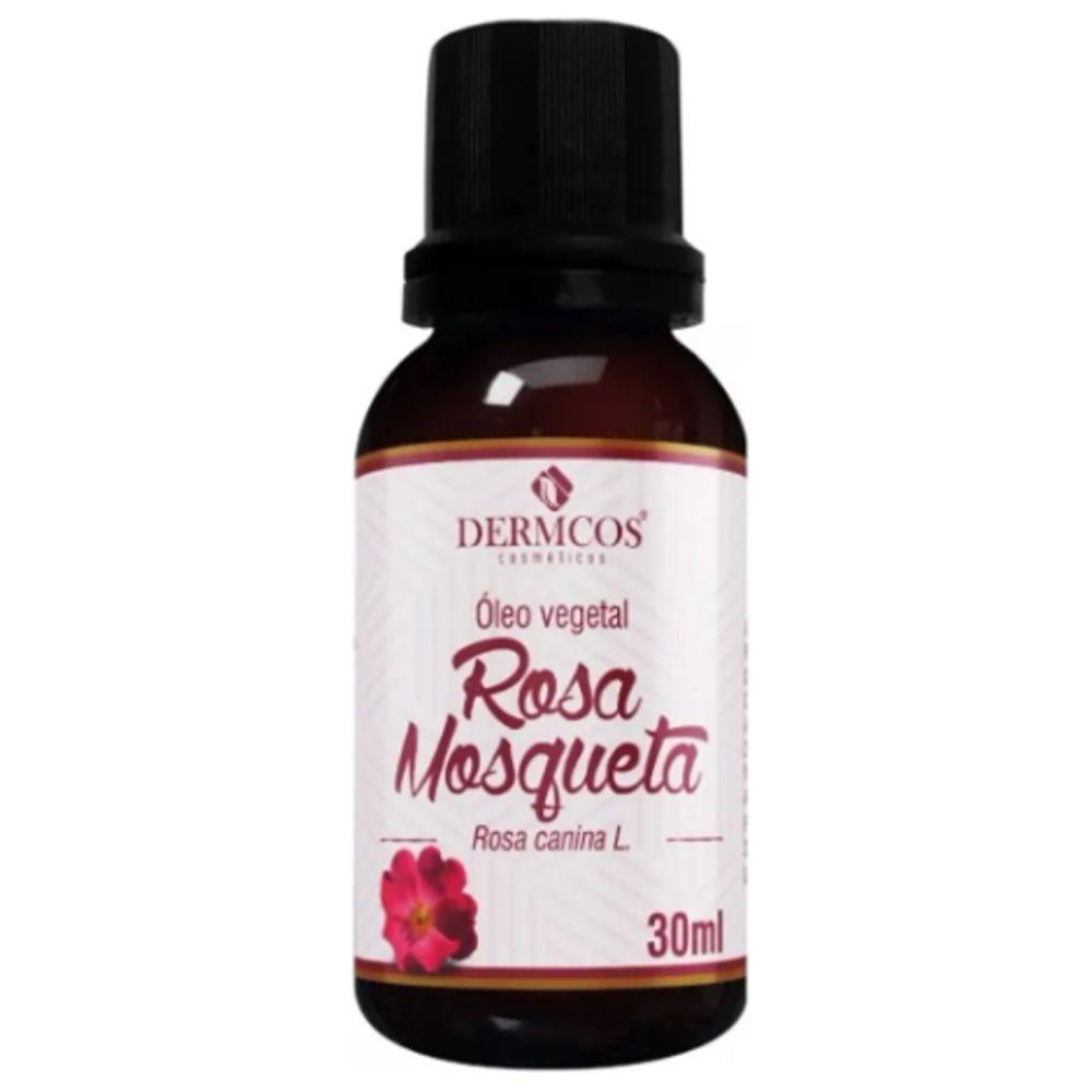Óleo Vegetal Rosa Mosqueta 30ml - Dermcos