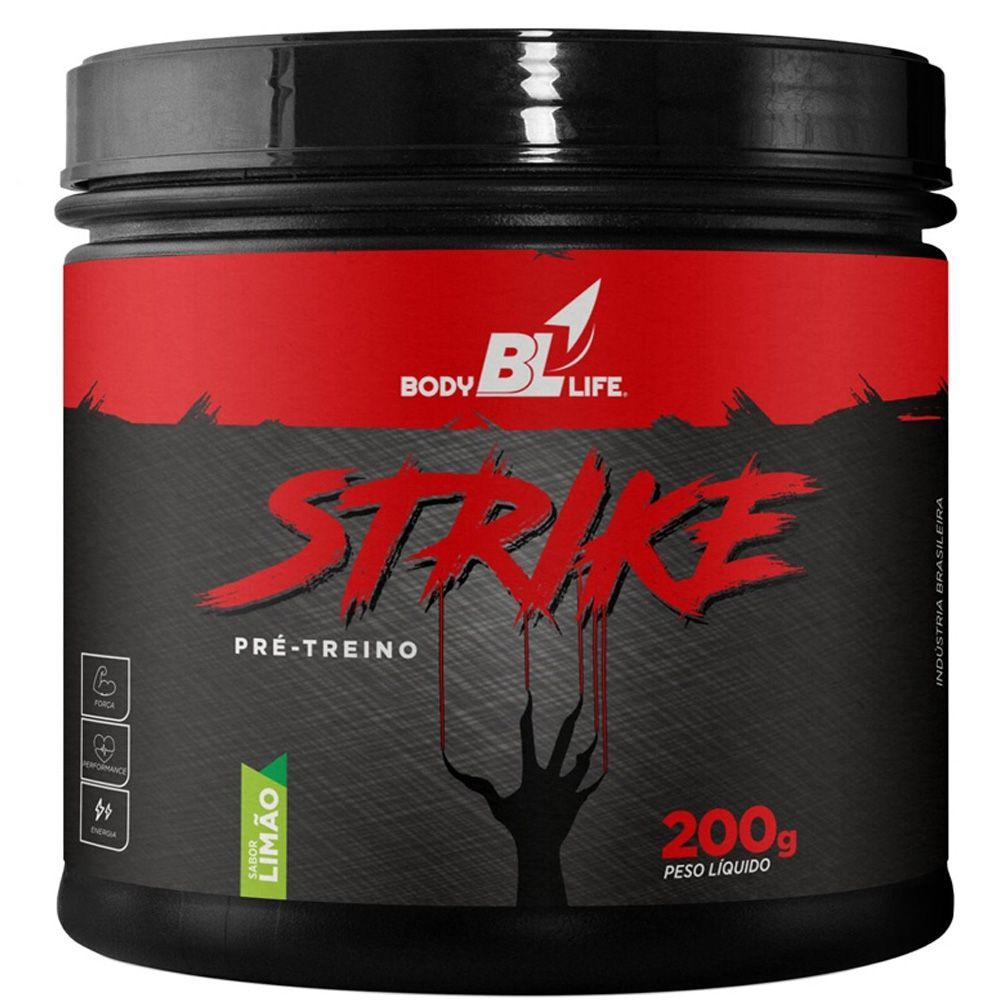 Pré Treino Strike 200g - BodyBlLife