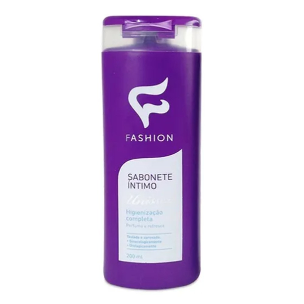 Sabonete Íntimo Unissex 200ml - Fashion