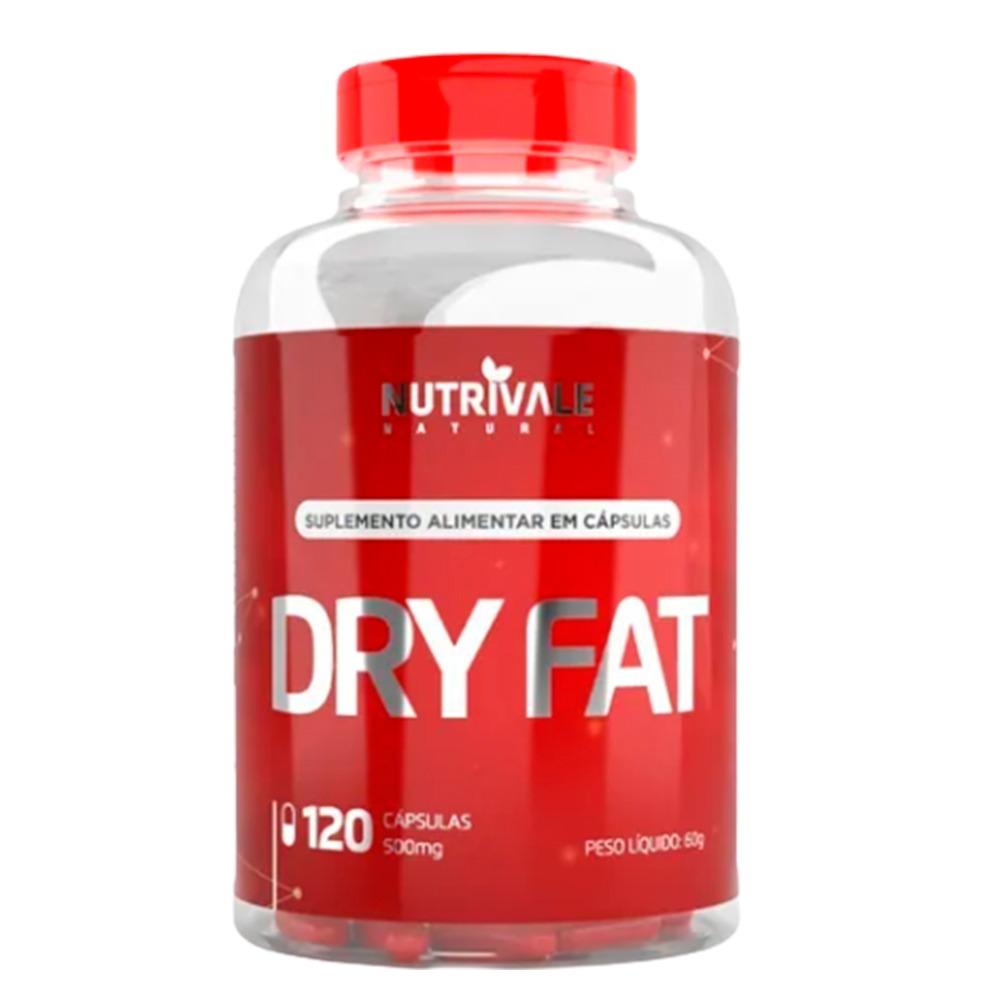 Seca Barriga Dry Fat Com Cromo + Cafeína + Ferro + Zinco + L Carnitina