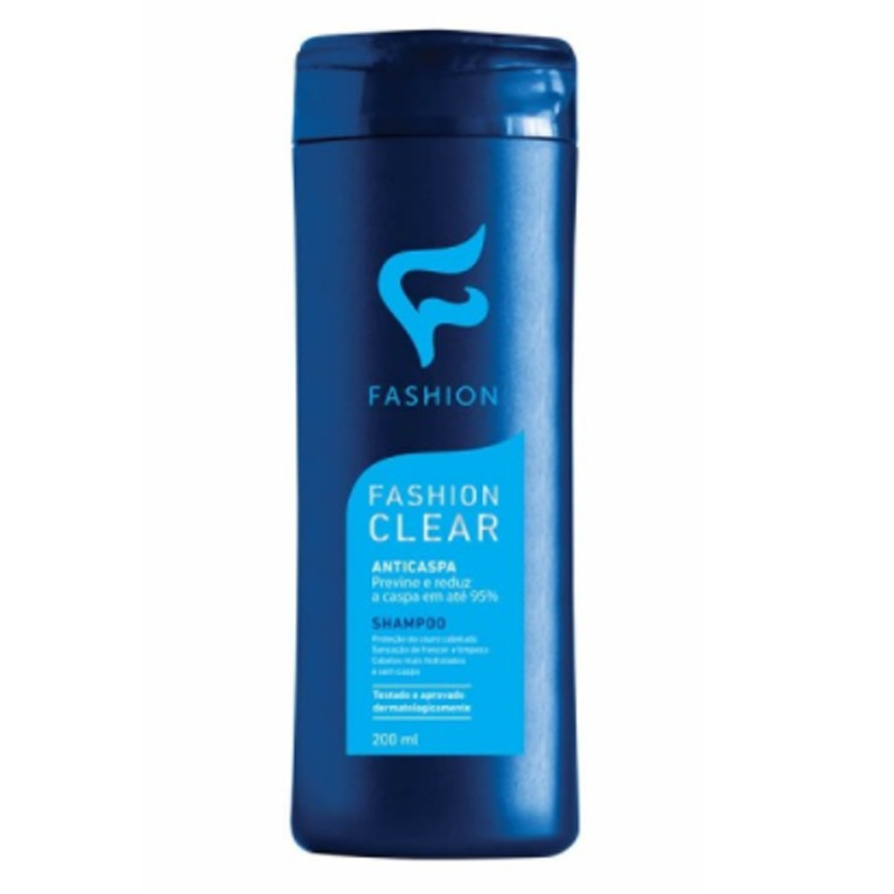 Shampoo AntiCaspa Fashion Clear  200ml - Fashion