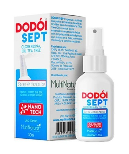 Spray Antisséptico Dodói Sept 30ml - Multinature