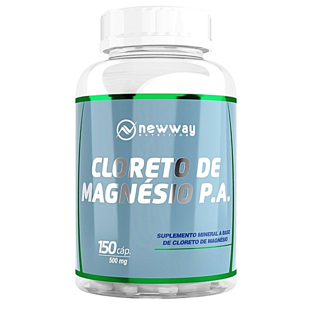 Super Cloreto De Magnésio P.A 150 Capsulas 500mg - New Way Nutrition