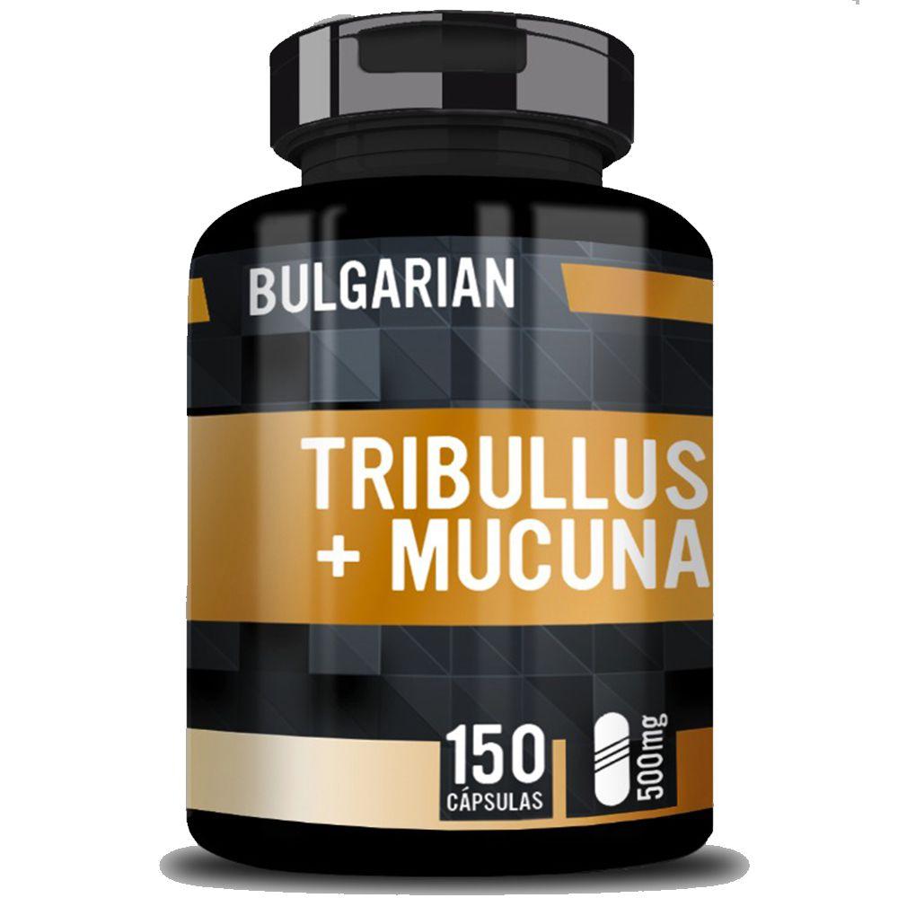 Tribulus Terrestris (250mg) Com Mucuna (250mg) 150 Cápsulas - Bulgarian