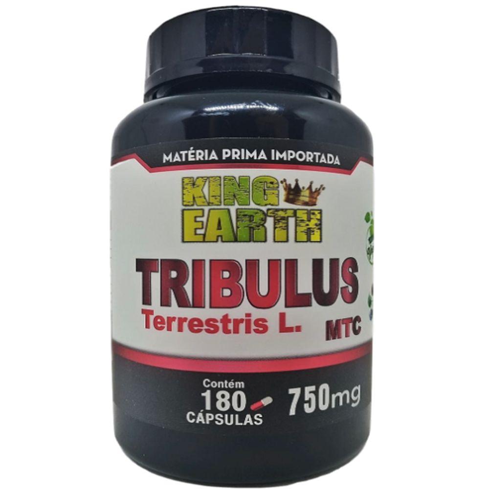 Tribulus Terrestris Extrato Importado MTC 750mg 180 Cápsulas Veganas