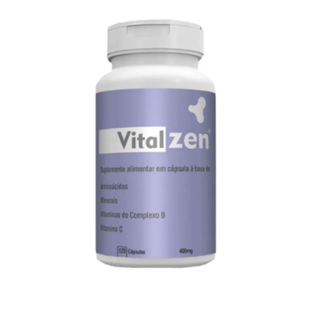 Vitalzen 120 Cápsulas 400mg - Catalmedic