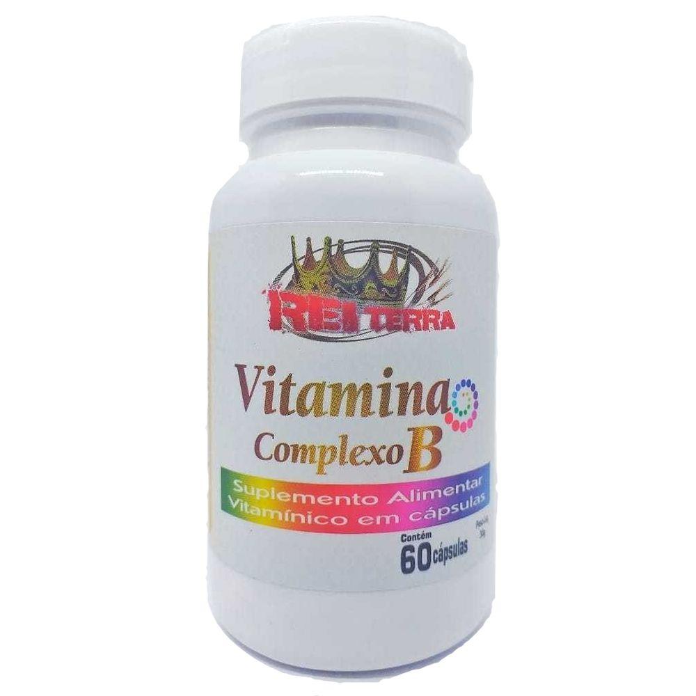Vitamina Complexo B 60 Cápsulas - Rei Terra