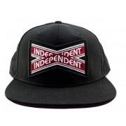Boné Snapback Independent Intersect Preto
