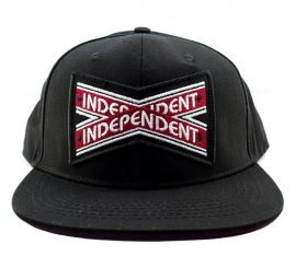 Boné Snapback Independent Intersect Preto