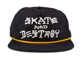 Boné Snapback Thrasher Skate And Destroy Rope