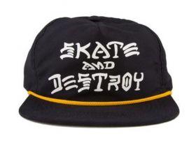 Boné Snapback Thrasher Skate And Destroy Rope