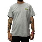 Camiseta Creature Logo Mini Cinza Mescla