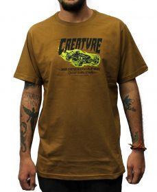 Camiseta Creature Speedway Marrom
