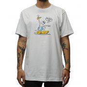 Camiseta Drop Dead Allien Grind Branca