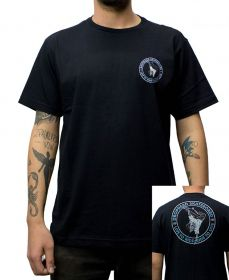Camiseta Drop Dead Ride To Live Preta